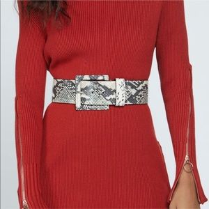 White House|Black Market • Snake Skin Belt